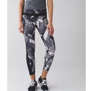 Lululemon Static Mist Pace Tights size 6